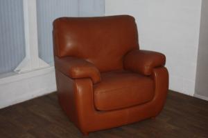 KEA moyen fauteuil cognac