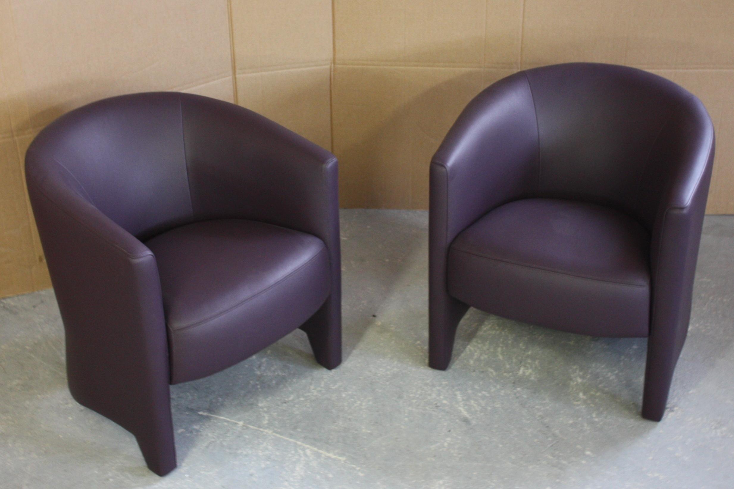 Athena canap et austin fauteuils l 39 album photo des - Canape prune cuir ...