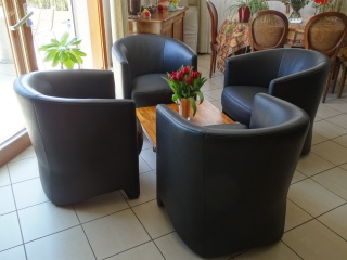 AUSTIN fauteuil cuir noir (1)