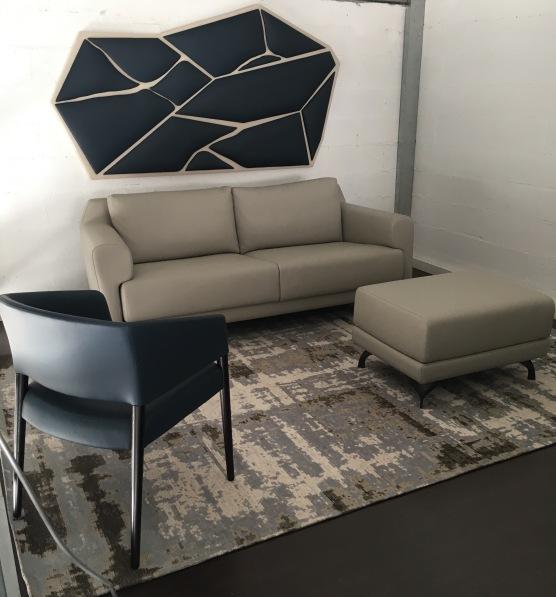 OSLO canape et Ottaoman et MATT chaise