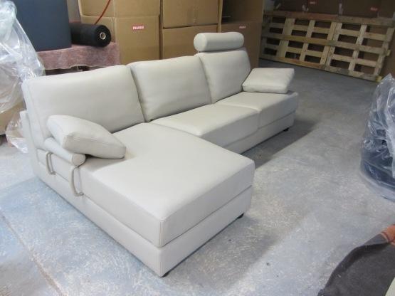 BORA avec chaise longue 3 assises de 77cm